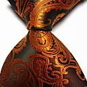 povoljno Leptir-mašne-Muškarci Paisley uzorak Zabava / Posao / Osnovni Print Kravata