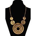 ieftine Colier la Modă-Pentru femei Coliere Colier lung, Declarație femei European Modă Aliaj Auriu Culoare ecran Coliere Bijuterii Pentru