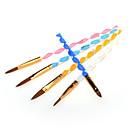 ieftine Alte instrumente-Plastic Perii de unghii Pentru Unghie Novelty nail art pedichiura si manichiura Cute Stil