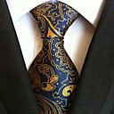 رخيصةأون ربطات عنق-ربطة العنق هندسي رجالي - طباعة حفلة / عمل / أساسي