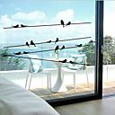 رخيصةأون أدوات الفرن-نافذة ملصقا الكلاسيكية، 57CM الحيوان * 11CM