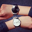 رخيصةأون ساعات الرجال-رجالي ساعة المعصم رقمي جلد اصطناعي أسود / الأبيض مقاوم للماء ساعة كاجوال كوول رقمي كاجوال - أبيض أسود / ستانلس ستيل