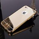 voordelige iPhone 6 Plus hoesjes-hoesje Voor iPhone 5 / Apple iPhone 8 Plus / iPhone 8 / iPhone SE / 5s Beplating / Spiegel Achterkant Effen Hard Acryl