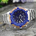 ieftine Ceasuri Bărbați-Bărbați Ceas de Mână Quartz Metal Argint Ceas Casual Analog Charm - Alb Negru Albastru