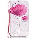 رخيصةأون Huawei أغطية / كفرات-غطاء من أجل أيفون 5C غطاء كامل للجسم قاسي جلد PU