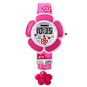 ieftine Ceasuri Damă-femei Ceas Brățară Digital Piele PU Matlasată Pink / Violet Piloane de Menținut Carnea Charm Modă - Mov Roz Doi ani Durată de Viaţă Baterie / Maxell626 + 2025