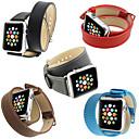 povoljno Podmetači za stolice-Pogledajte Band za Apple Watch Series 5/4/3/2/1 Apple Klasična kopča Prava koža Traka za ruku
