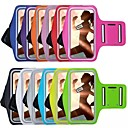 Недорогие Чехлы и кейсы для Galaxy Note Edge-Кейс для Назначение iPhone 6s Plus / iPhone 6 Plus / iPhone 6s с окошком / Нарукавная повязка С ремешком на руку Однотонный Мягкий текстильный