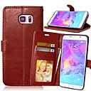 levne Sady šperků-Carcasă Pro Samsung Galaxy Note 5 / Note 4 / Note 3 Peněženka / Pouzdro na karty / se stojánkem Celý kryt Jednobarevné PU kůže