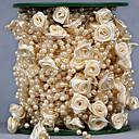 povoljno Dekoracija doma-Kreativan Other Ribbon Umjetno drago kamenje Vjenčanje Vrpce - 1 Komad / set Organza Ribbon Jedinstven svadbeni dekor Mašnica za dar