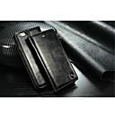 povoljno iPhone maske-Θήκη Za Apple iPhone X / iPhone 8 Plus / iPhone 8 Utor za kartice / sa stalkom Korice Jednobojni Tvrdo prava koža