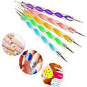 ieftine Alte instrumente-Plastic / Aliaj Unelte pentru unghii Pentru Unghie Durabil nail art pedichiura si manichiura Personalizat / Clasic Zilnic