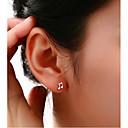 povoljno Naušnice-Žene Sitne naušnice dame Glina Imitacija dijamanta Naušnice Jewelry Za Vjenčanje Party Dnevno Kauzalni