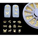 ieftine Părți Motociclete & ATV-MetalPistol 3D Acțibilduri de Unghii Pentru deget deget de la picior Încântător nail art pedichiura si manichiura Clasic Zilnic