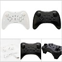 WU-C0001BW Wireless Game Controller Wii U ,  Bluetooth / Gaming Handle / Rechargeable Game Controller Metal / ABS 1 pcs unit