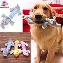 ieftine Câini Gulere, hamuri și Curelușe-Jucării pluș Jucărie Pisică Jucării Cățel Animale de Companie  Jucarii Țipăt ascuțit Burete Cadou