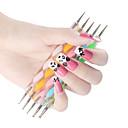 ieftine Decorațiuni-instrumente dotting Pentru Unghie Unghie deget picior Pensulă Acrilic Ușor, rezistent și durabil nail art pedichiura si manichiura Design Unic