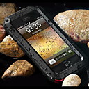 رخيصةأون كاميرات المراقبة IP-غطاء من أجل Apple iPhone XS / iPhone XR / iPhone XS Max ضد الصدمات / ضد الغبار / مقاوم للماء غطاء خلفي درع قاسي معدن