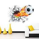 povoljno Ukrasne naljepnice-Romantika Crtani film Sportske 3D Zid Naljepnice 3D zidne naljepnice Dekorativne zidne naljepnice, Vinil Početna Dekoracija Zid preslikača