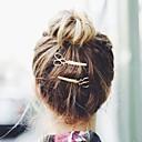 رخيصةأون مجوهرات الشعر-نسائي أنيق سبيكة دبابيس الشعر سحر الشعر زفاف مناسب للحفلات