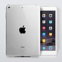 رخيصةأون أغطية أيباد-غطاء من أجل Apple iPad 4/3/2 شفاف غطاء خلفي لون سادة TPU