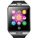 povoljno USB gadgeti-q18 smartwatch bt fitness tracker s podrškom za fotoaparat obavijesti / monitor otkucaja srca sportski pametni sat za samsung / iphone / android telefone