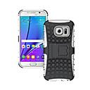voordelige Galaxy S7 Edge Hoesjes / covers-hoesje Voor Samsung Galaxy S8 Plus / S8 / S7 edge Schokbestendig / Reliëfopdruk Achterkant Schild PC