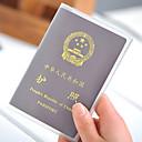 PVC Passport Holder & ID Holder Passport Cover Waterproof Portable Dust Proof Travel Storage Ultra Light(UL)