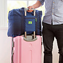 رخيصةأون سلاسل المفاتيح-حقيبة السفر / منظم السفر / منظم أغراض السفر سعة كبيرة / مقاوم للماء / المحمول إلى ملابس أكسفورد القماش / لون سادة السفر