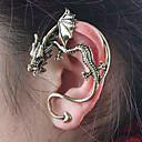ieftine Cercei-Pentru femei Cătușe pentru urechi Căști de cățărare Balaur femei Personalizat cercei Bijuterii Pentru Zilnic Casual