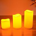 ieftine Rechizite Petrecere-lumânări au condus stabilit pentru ziua de naștere de Crăciun partid trei lumânări dimensiune s / m / l diferite