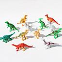povoljno Akcijskih figura i modeli-Dinosaur Akcijske figurice Noviteti Crtići PVC Djevojčice Dječaci Poklon 12pcs
