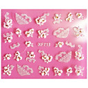 1 pcs 3D Nail Stickers Lace Stickers nail art Manicure Pedicure Abstract / Fashion Daily