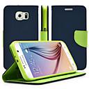 ieftine Carcase / Huse Galaxy Note Series-Maska Pentru Samsung Galaxy Note 5 / Note 4 / Note 3 Cu Stand / Întoarce Carcasă Telefon Mată PU piele