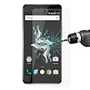 Screen Protector OnePlus One Plus X Tempered Glass 1 pc Screen Protectors High Definition (HD)