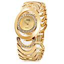 ieftine Ceasuri Damă-Pentru femei femei Ceasuri de lux Ceas La Modă Ceas Brățară Japoneză Quartz Oțel inoxidabil Argint / Auriu 30 m Ceas Casual Analog Modă Elegant - Auriu Argintiu Auriu / Argintiu Doi ani Durată de