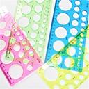 رخيصةأون أدوات الحمام-1PC فن صنع اللف قالب دائري ورقة - 4 لون عشوائي