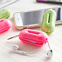 Earphone Holder / Cable Winder / Air Pad Travel Storage Travel Storage Rubber