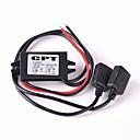 ieftine Încărcătoare auto-Încărcător auto dual USB usb convertor DC modul 12v la 5v 3a 15w regulator coborî convertorul de putere auto cu dublu usb cablu dc la dc buck convertor pentru tablou de bord auto auto dvr GPS
