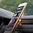 رخيصةأون حامل سيارة-سيارة أيفون 6بلس / ايفون 6 / أيفون 5S جبل حامل حامل دوران360ْ / مغناطيسي أيفون 6بلس / ايفون 6 / أيفون 5S معدن حائز