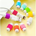 رخيصةأون كماشة-اي فون كابل حامي، منظم كابل للكابلات الهاتف الذكي (1 قطعة لون عشوائي)