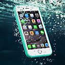 voordelige Galaxy S6 Edge Plus Hoesjes / covers-hoesje Voor Apple iPhone 6s Plus / iPhone 6s / iPhone 6 Plus Waterbestendig Achterkant Effen Zacht TPU