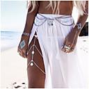 ieftine Gadget Baie-Pentru femei Bijuterii de corp Lanț de Talie / Corp lanț / burtă lanț / Lănțișor Picior Argintiu / Auriu femei / Design Unic / European Aliaj Costum de bijuterii Pentru Nuntă / Casual / Plajă Vară