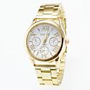 ieftine Ceasuri Bărbați-Bărbați Ceas de Mână Aviation Watch Quartz Oțel inoxidabil Auriu Ceas Casual Analog Charm - Alb Negru Un an Durată de Viaţă Baterie / Jinli 377