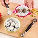 رخيصةأون أدوات & أجهزة المطبخ-الآيس كريم مزدوجة مغرفة ملعقة البطيخ بالر القاطع الفاكهة أدوات المطبخ