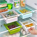 povoljno Kuhijnski alati-DIY kuhinja frižider prostor saver organizator skliznuti ispod police držač polica za pohranu