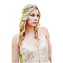 ieftine Bijuterii de Păr-Pentru femei Cordeluțe Fascinators Bijuterii pentru Frunte Pentru Nuntă Petrecere Ocazie specială Zilnic Material Textil Hârtie Alb