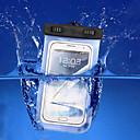 ieftine Alte cutii pentru tablete-Maska Pentru iPhone 7 / iPhone 6s Plus / iPhone 6 Plus iPhone SE / 5s Rezistent la apă / cu Fereastră Husă Mată Moale PC