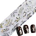 ieftine Instrumente Scris & Desen-1pcs Strălucire Unghii foarfece bandă striping nail art pedichiura si manichiura Floare / Modă Zilnic / Foil Stripping Tape