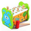 abordables Décoration Murale-éducatif hamster percussion noctuelle gros jouets en bois pour enfants sur la petite enfance